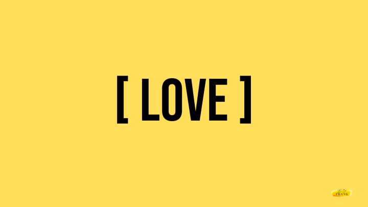 LOVE IS…not nice