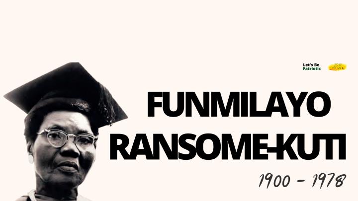 FUNMILAYO RANSOME-KUTI