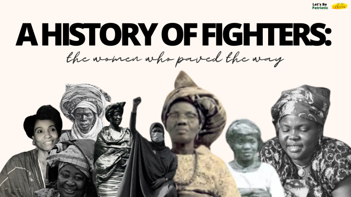 CONCLUDING 'A HISTORY OF FIGHTERS: THE WOMEN WHO PAVED THE WAY'