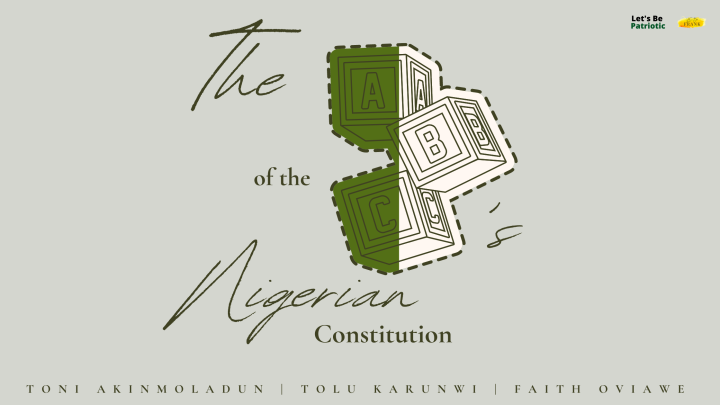 THE ABCS OF THE NIGERIAN CONSTITUTION: CHAPTER & SCHEDULE 2